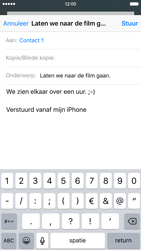 Apple iPhone 6s - e-mail - hoe te versturen - stap 8