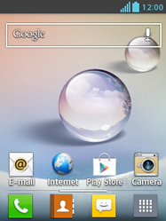 LG E430 Optimus L3 II - Internet - populaire sites - Stap 7