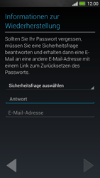 HTC One - Apps - Konto anlegen und einrichten - 12 / 25