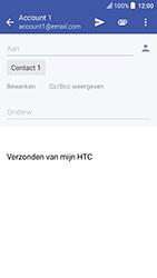 HTC U Play - e-mail - hoe te versturen - stap 8