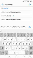 Huawei P8 Lite 2017 - E-Mail - E-Mail versenden - Schritt 10