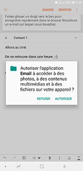Samsung Galaxy J6 Plus - E-mails - Envoyer un e-mail - Étape 12