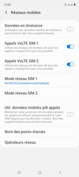 Samsung Galaxy A51 - Internet et connexion - Activer la 4G - Étape 8
