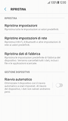 Samsung Galaxy A5 (2016) - Android Nougat - Dispositivo - Ripristino delle impostazioni originali - Fase 7