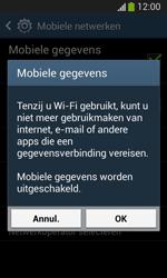 Samsung Galaxy S3 Mini VE (I8200) - Internet - Uitzetten - Stap 7