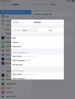 Apple iPad Air 2 - ipados 13 - E-mail - configuration manuelle - Étape 11
