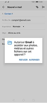 Huawei Y6 (2019) - E-mails - Envoyer un e-mail - Étape 11