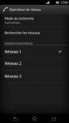 Sony Xperia T - Réseau - Sélection manuelle du réseau - Étape 10