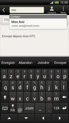 HTC S720e One X - E-mail - envoyer un e-mail - Étape 5