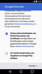LG H840 G5 SE - Apps - Konto anlegen und einrichten - Schritt 16