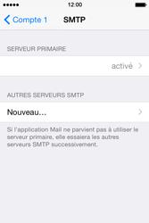 Apple iPhone 4S (iOS 8) - E-mails - Ajouter ou modifier un compte e-mail - Étape 18