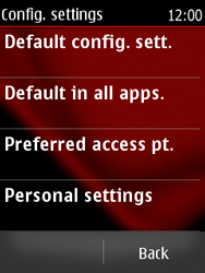 Nokia Asha 300 - MMS - Manual configuration - Step 5