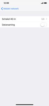 Apple iPhone X - iOS 12 - 4G instellen  - Toestel instellen voor 4G - Stap 5