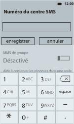 HTC C110e Radar - SMS - Configuration manuelle - Étape 5