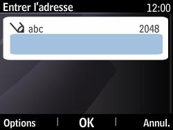 Nokia Asha 210 - Internet - Navigation sur Internet - Étape 4