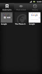 Sony ST25i Xperia U - Internet - Internet browsing - Step 9