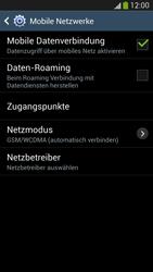 Samsung Galaxy S4 LTE - Ausland - Im Ausland surfen – Datenroaming - 8 / 12