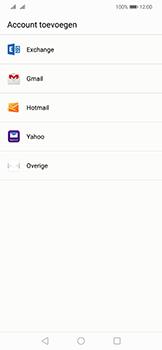 Huawei Mate 20 Lite - e-mail - handmatig instellen - stap 4