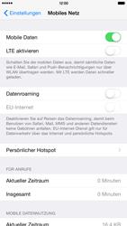Apple iPhone 6 Plus iOS 8 - Netzwerk - Netzwerkeinstellungen ändern - Schritt 5