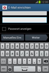 Samsung Galaxy Fame Lite - E-Mail - Manuelle Konfiguration - Schritt 6