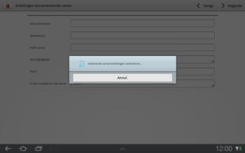 Samsung P7500 Galaxy Tab 10-1 - E-mail - Handmatig instellen - Stap 8