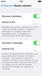 Apple iPhone 5c (iOS 8) - Aller plus loin - Désactiver les données à l'étranger - Étape 4