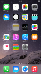 Apple iPhone 6 Plus - iOS 8 - Getting started - Personalising your Start screen - Step 4