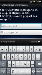 Sony Xperia Neo - E-mail - Configuration manuelle - Étape 5