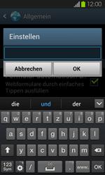 Samsung Galaxy S2 mit Android 4.1 - Internet - Manuelle Konfiguration - 1 / 1