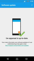 Sony E5603 Xperia M5 - Software update - update installeren zonder PC - Stap 6