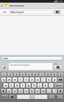 Samsung Galaxy Note 8-0 - MMS - Erstellen und senden - 14 / 24
