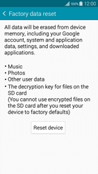 Samsung A300FU Galaxy A3 - Device - Factory reset - Step 7