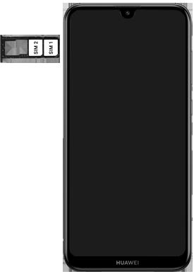 Huawei Y7 (2019) - Appareil - Insérer une carte SIM - Étape 5