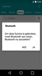 LG K120E K4 - Contactgegevens overzetten - delen via Bluetooth - Stap 9