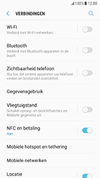 Samsung Galaxy S7 - Android Nougat - wifi - handmatig instellen - stap 5