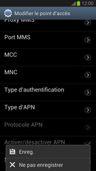 Samsung Galaxy S III - MMS - Configuration manuelle - Étape 14