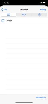 Apple iPhone XS Max - iOS 13 - Internet und Datenroaming - Verwenden des Internets - Schritt 10