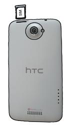HTC One X - SIM-Karte - Einlegen - 0 / 0
