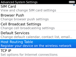 BlackBerry 9780 Bold - Settings - Configuration message received - Step 6