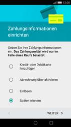 Huawei P8 - Apps - Konto anlegen und einrichten - 18 / 20