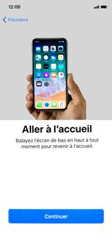 Apple iPhone XS - iOS 12 - Premiers pas - Configuration de l