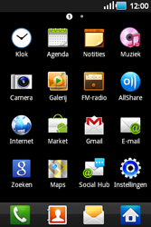Samsung S5660 Galaxy Gio - e-mail - hoe te versturen - stap 3