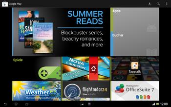 Sony Xperia Tablet Z LTE - Apps - Konto anlegen und einrichten - Schritt 26