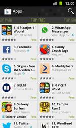 Samsung I9100 Galaxy S II - Applicaties - Downloaden - Stap 7