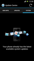 Sony Xperia J - Software - Installing software updates - Step 10
