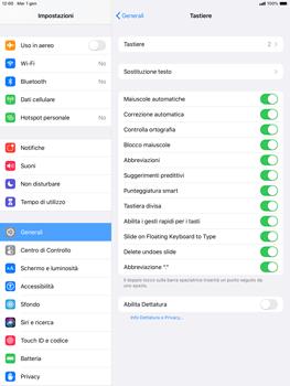 Apple ipad-10-2-7th-gen - Operazioni iniziali - Come aggiungere una lingua alla tastiera - Fase 5
