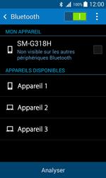 Samsung G318H Galaxy Trend 2 Lite - Bluetooth - connexion Bluetooth - Étape 8