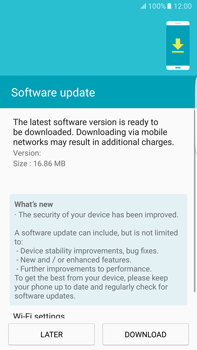 Samsung Samsung G928 Galaxy S6 Edge + (Android M) - Device - Software update - Step 8