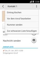 Huawei Ascend Y550 - Anrufe - Anrufe blockieren - Schritt 5