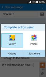 Samsung J100H Galaxy J1 - MMS - Sending pictures - Step 15